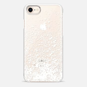 iPhone 8 Case white sparkly day