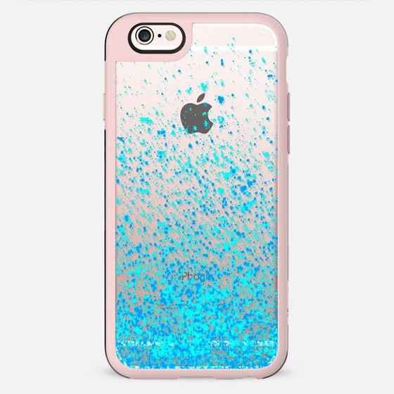 blue sparkles - New Standard Case