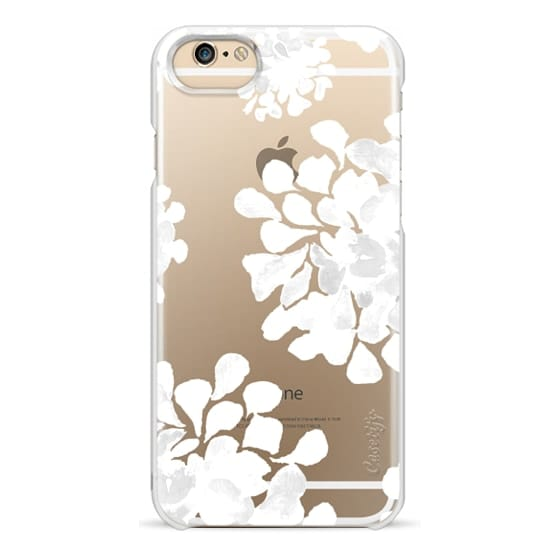 iPhone 6 Cases - white flowers