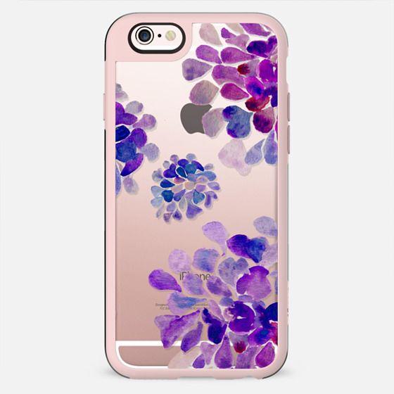 purple flowers - New Standard Case