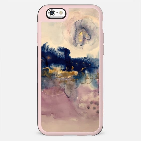 abstract in pink and blue - New Standard Case