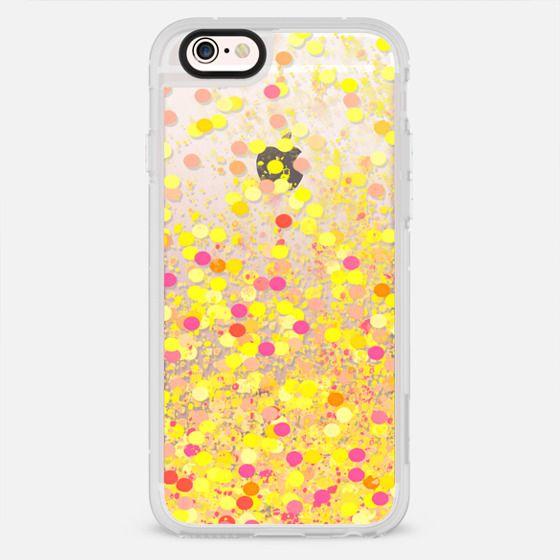 yellow confetti - New Standard Case
