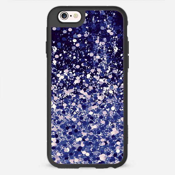 black and gold confetti - New Standard Case