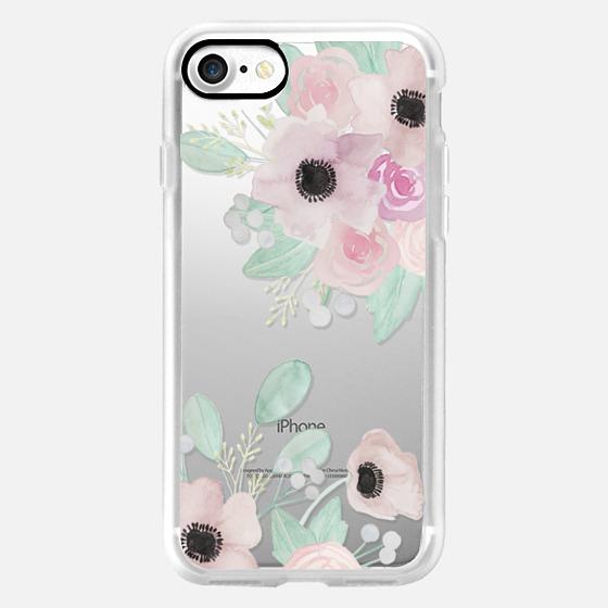 Anemones + Roses - Classic Grip Case