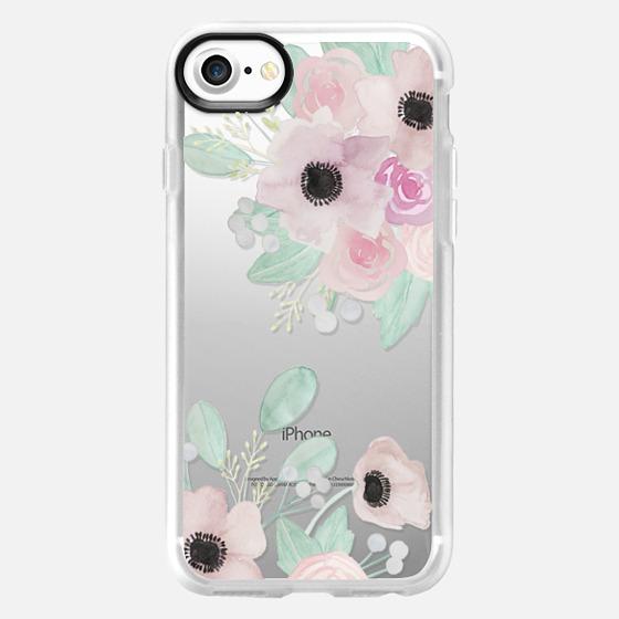 Anemones + Roses - Wallet Case