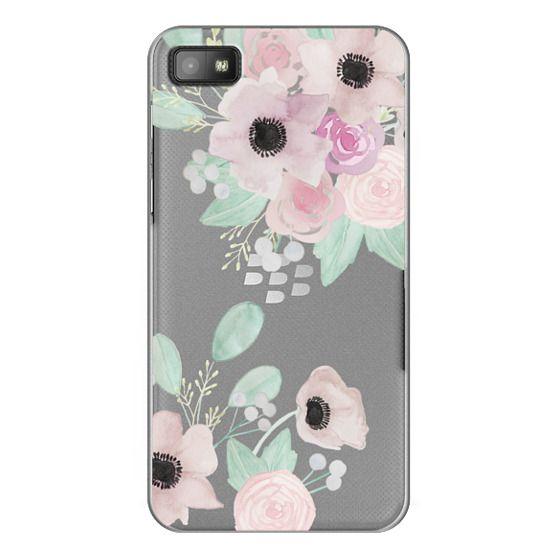 Blackberry Z10 Cases - Anemones + Roses