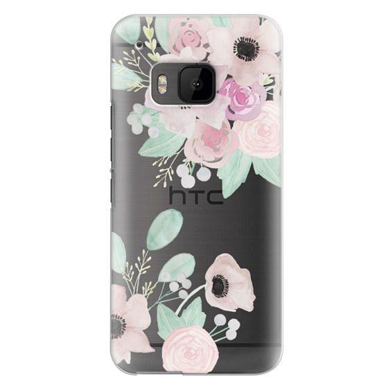 Htc One M9 Cases - Anemones + Roses
