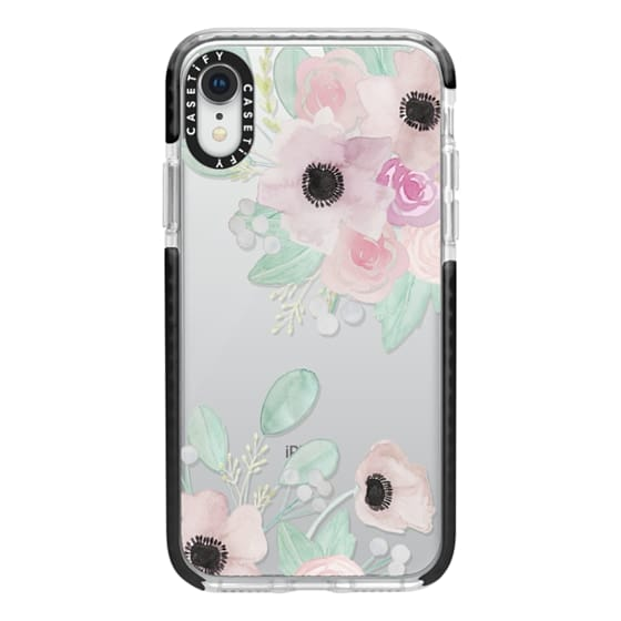 iPhone XR Cases - Anemones + Roses