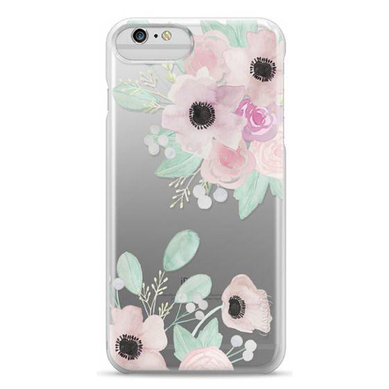 iPhone 6 Plus Cases - Anemones + Roses