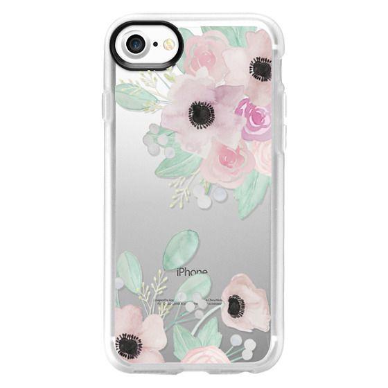 iPhone 7 Cases - Anemones + Roses