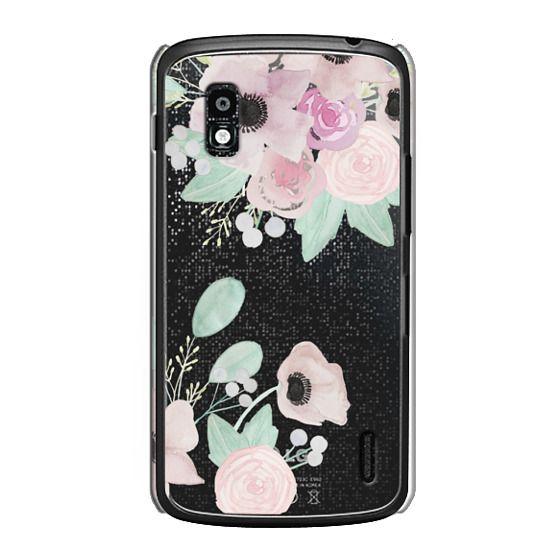 Nexus 4 Cases - Anemones + Roses