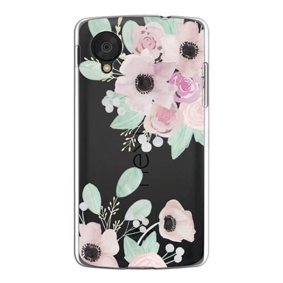 Nexus 5 Cases - Anemones + Roses
