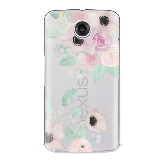 Nexus 6 Cases - Anemones + Roses