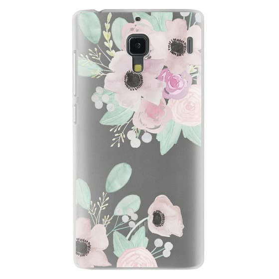 Redmi 1s Cases - Anemones + Roses