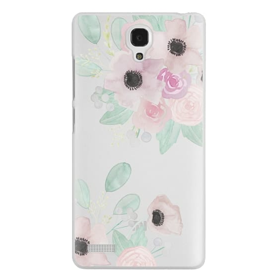 Redmi Note Cases - Anemones + Roses