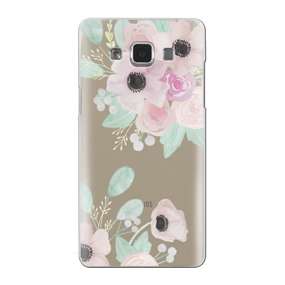 Samsung Galaxy A5 Cases - Anemones + Roses