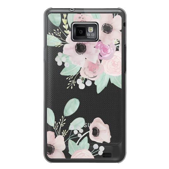 Samsung Galaxy S2 Cases - Anemones + Roses