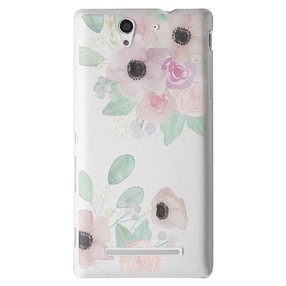 Sony C3 Cases - Anemones + Roses