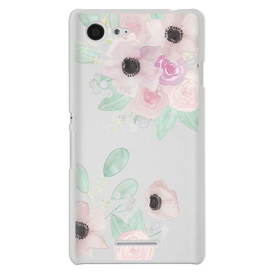 Sony E3 Cases - Anemones + Roses
