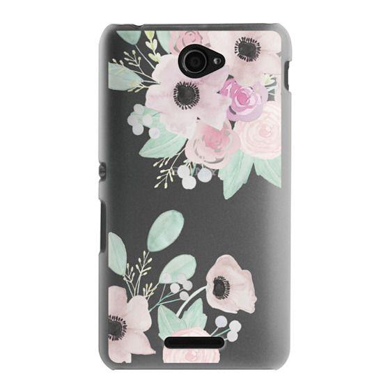 Sony E4 Cases - Anemones + Roses