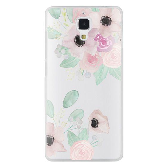 Xiaomi 4 Cases - Anemones + Roses