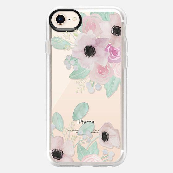 Anemones + Roses - Snap Case