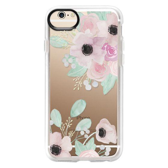 iPhone 6 Cases - Anemones + Roses