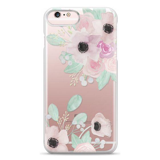 iPhone 6s Plus Cases - Anemones + Roses