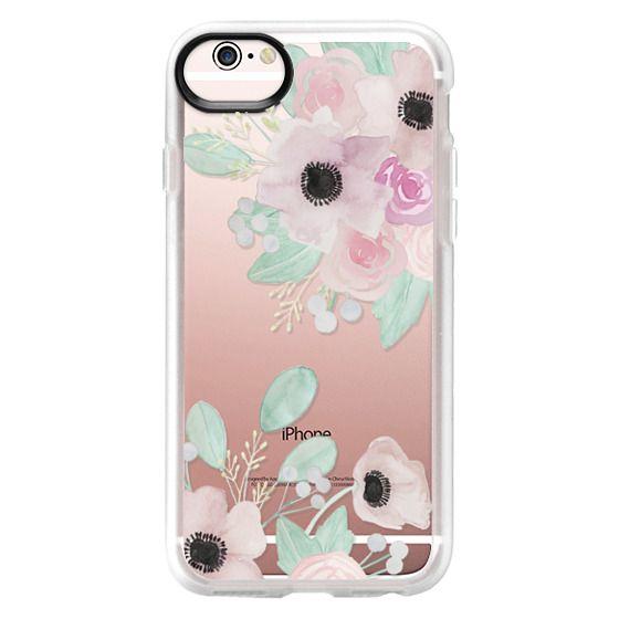 iPhone 6s Cases - Anemones + Roses