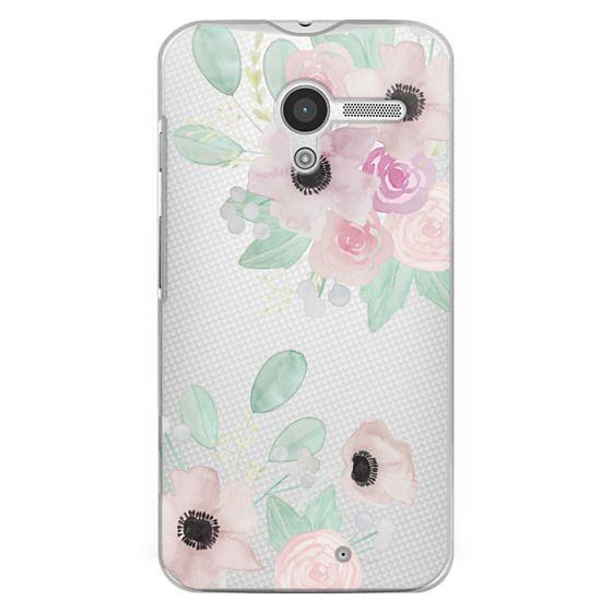 Moto X Cases - Anemones + Roses