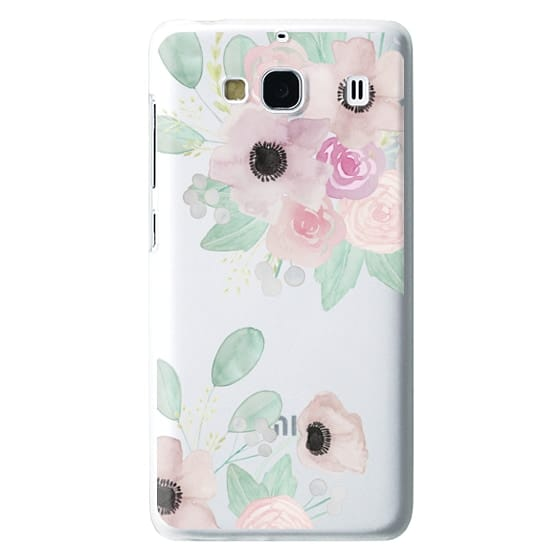 Redmi 2 Cases - Anemones + Roses
