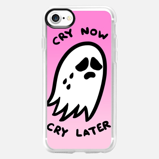 Cry Now, Cry Later by Sara M. Lyons - Wallet Case