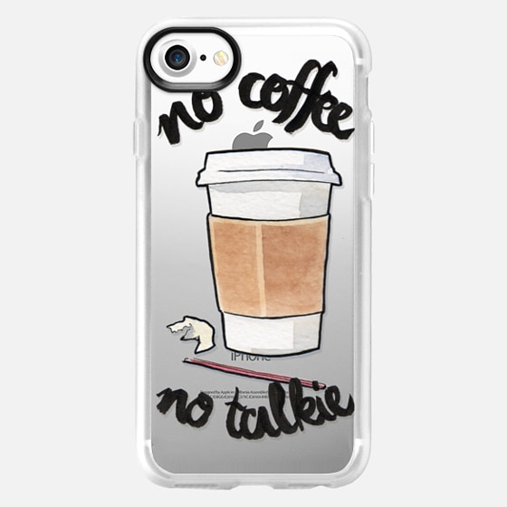 No Coffee Less Talkie by Liana Kangas - Wallet Case