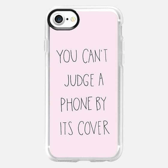 Can't Judge Pink by Sophia Elias - Classic Grip Case