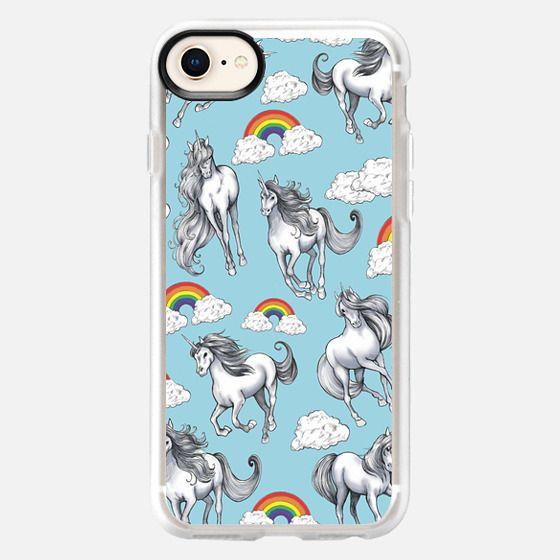 Unicorns by Gina Schiappacasse - Snap Case