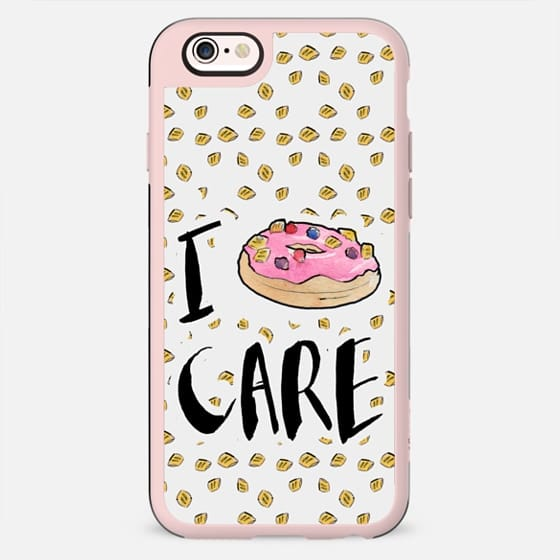 I Donut Care - Tile by Liana Kangas - New Standard Case