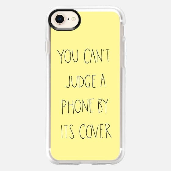 Can't Judge Yellow by Sophia Elias - Snap Case