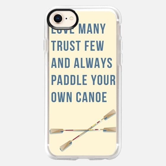 Always Paddle by Sarah McKay - Snap Case
