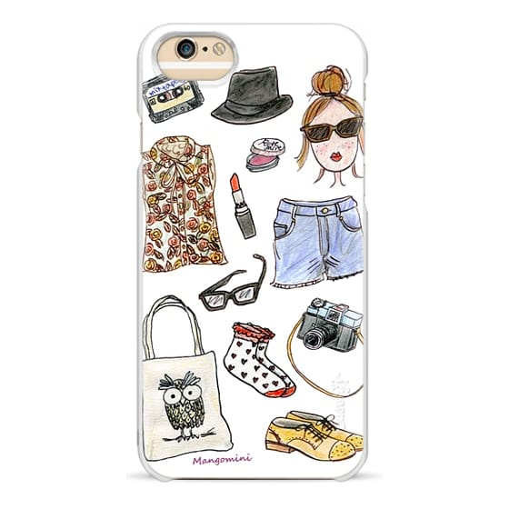 iPhone 6 Cases - Hipsters #Sorrynotsorry by Cindy Mangomini