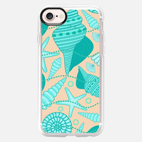 Sea Shells and Sand - Wallet Case