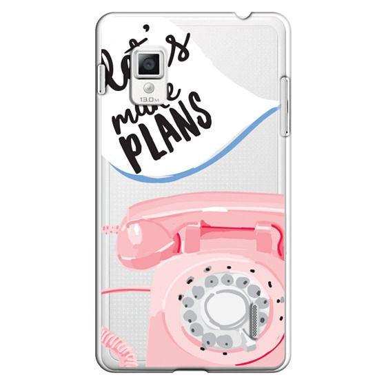 Optimus G Cases - Let's Make Plans