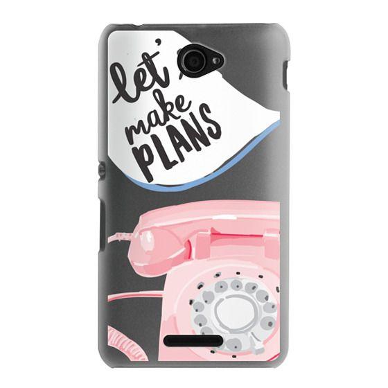 Sony E4 Cases - Let's Make Plans