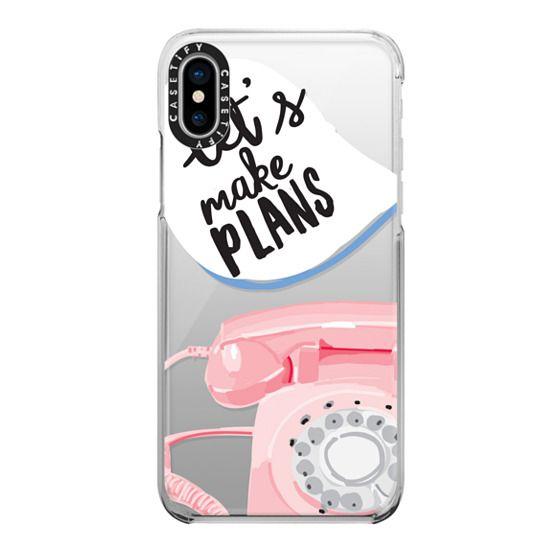 iPhone X Cases - Let's Make Plans