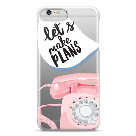 iPhone 6 Plus Cases - Let's Make Plans