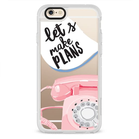 iPhone 4 Cases - Let's Make Plans