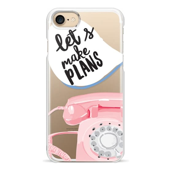 iPhone 7 Cases - Let's Make Plans