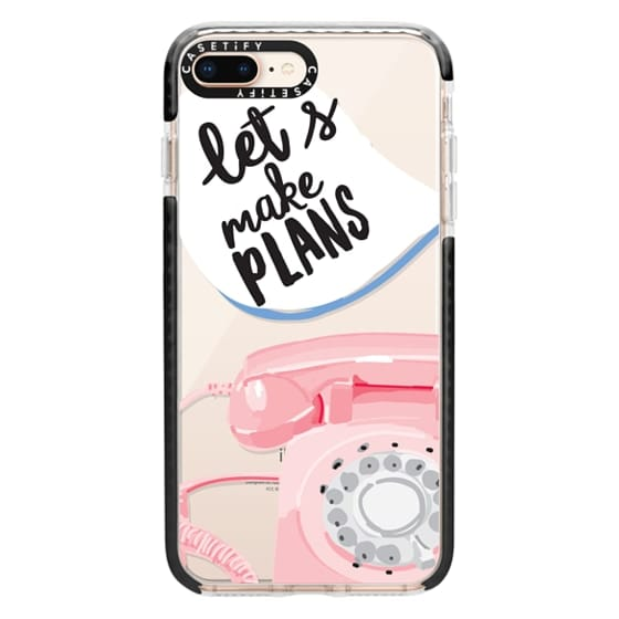 iPhone 8 Plus Cases - Let's Make Plans