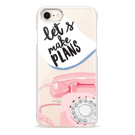 iPhone 8 Cases - Let's Make Plans
