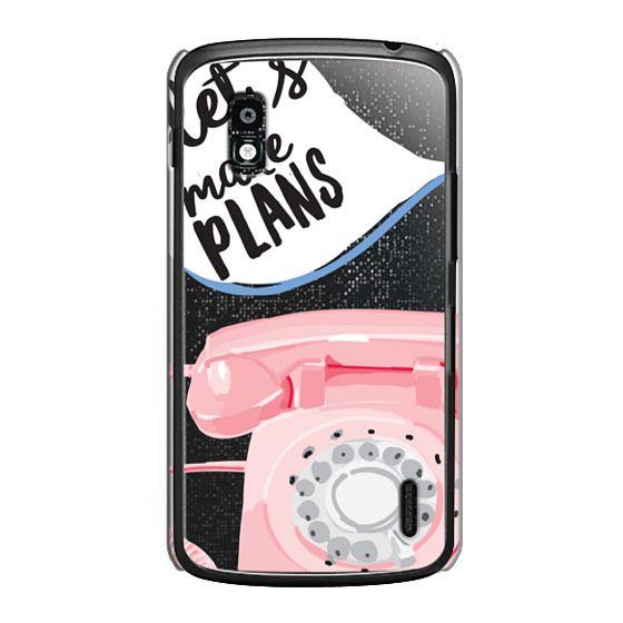 Nexus 4 Cases - Let's Make Plans