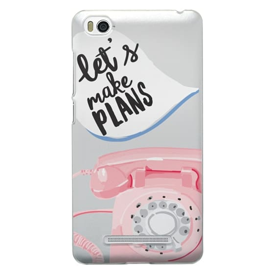Xiaomi 4i Cases - Let's Make Plans
